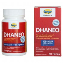 DHANEO - highly concentrated DHA capsules with 90% omega-3
