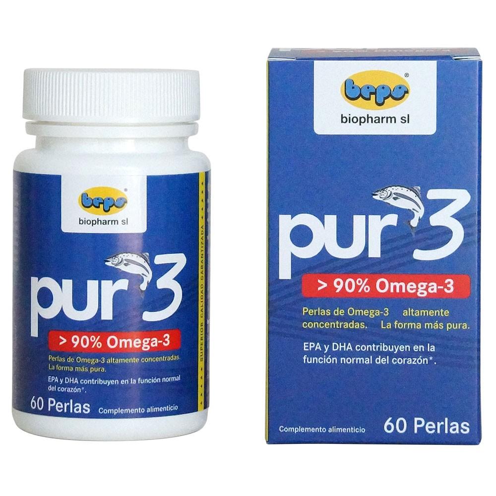 Pur3 - 90% omega-3 apoyando al corazón y su equilibrio emocional