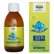 Petit Pur3 - 200 ml omega-3 LÍQUIDO para niños y adultos.