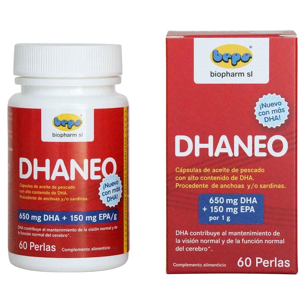 DHANEO - Hochkonzentrierte DHA-Kapseln mit 90% Omega-3