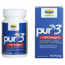 Pur3 - 90% Omega-3 für ein gesundes Herz und emotionales Gleichgewicht